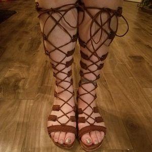 Gladiator tall sandals
